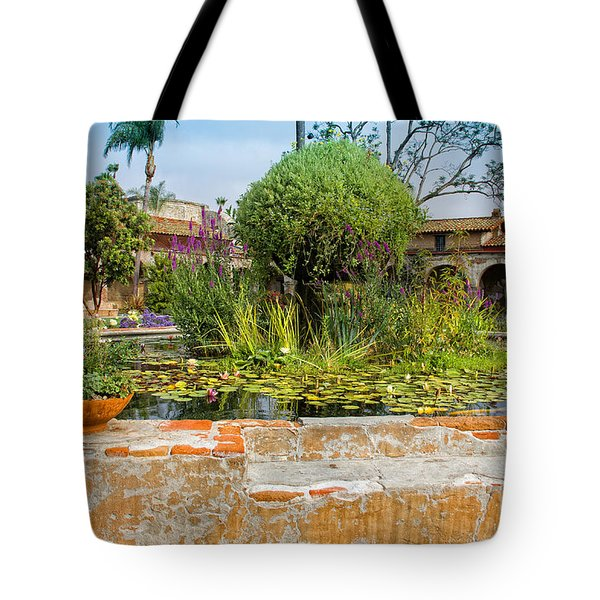 Mission Lilly Pond Tote Bag