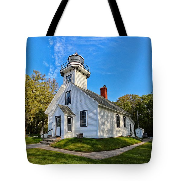 Mission Point Lighthouse 1 Tote Bag