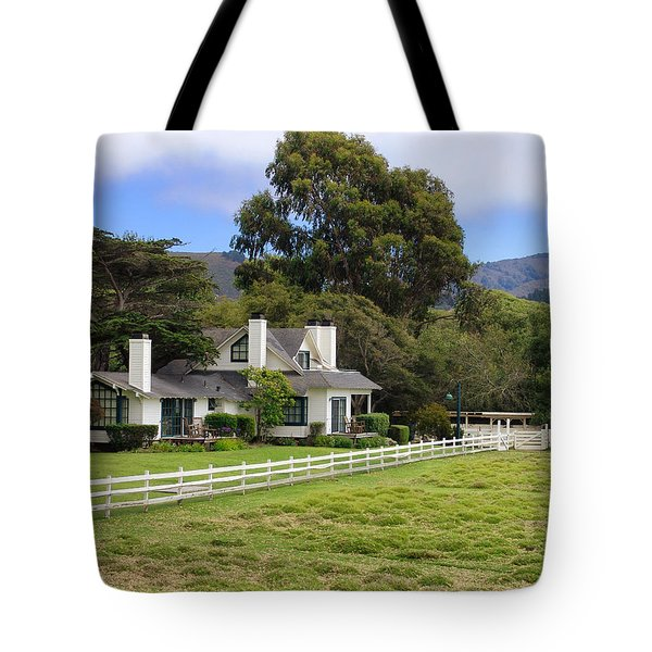 Mission Ranch - Carmel California Tote Bag by Glenn McCarthy Art and Photography