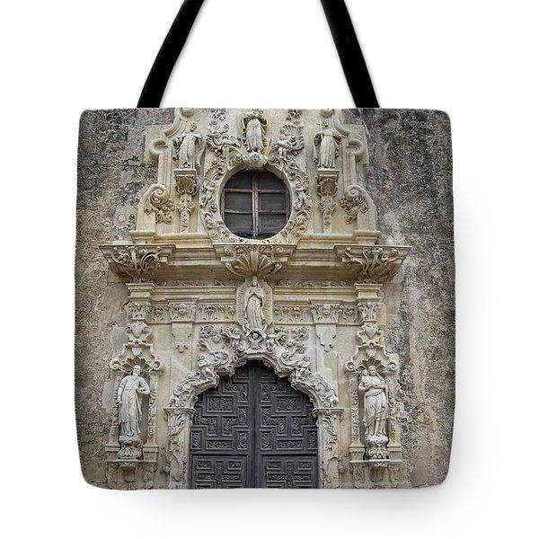 Mission San Jose Doorway Tote Bag