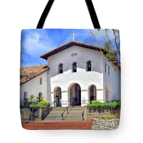 Mission San Luis Obispo De Tolosa Tote Bag