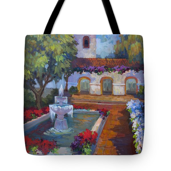 Mission Via Dolorosa Tote Bag
