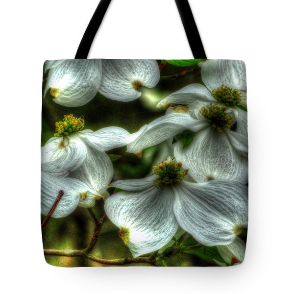 Tote Bag featuring the photograph Mississippi Dogwood by Lanita Williams