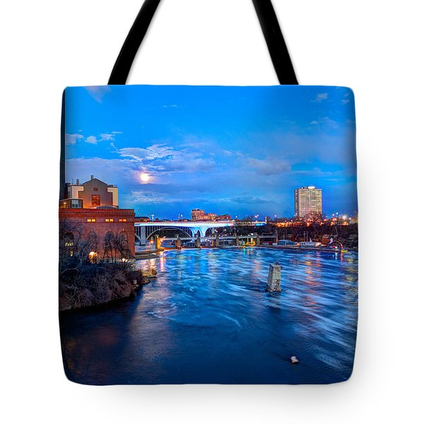 Mississippi Moonlight Tote Bag by Amanda Stadther