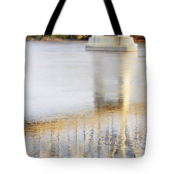Mississippi Reflection Tote Bag