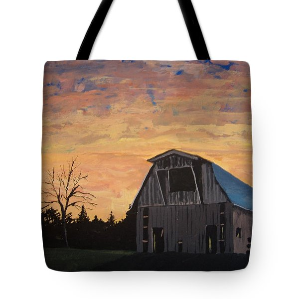 Missouri Barn Tote Bag by Norm Starks