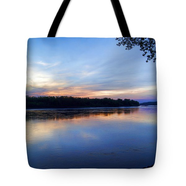 Missouri River Blues Tote Bag