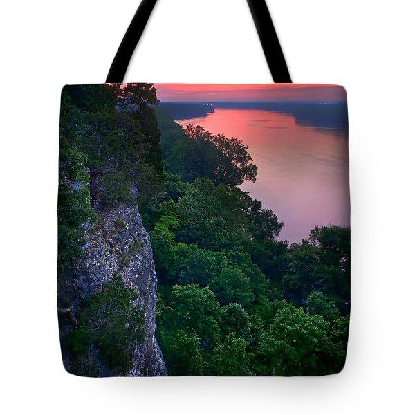Missouri River Bluffs Tote Bag