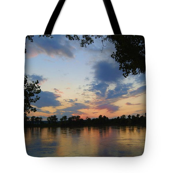 Missouri River Glow Tote Bag