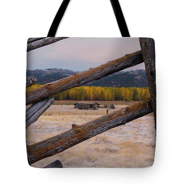 Missouri River History Tote Bag by Leland D Howard
