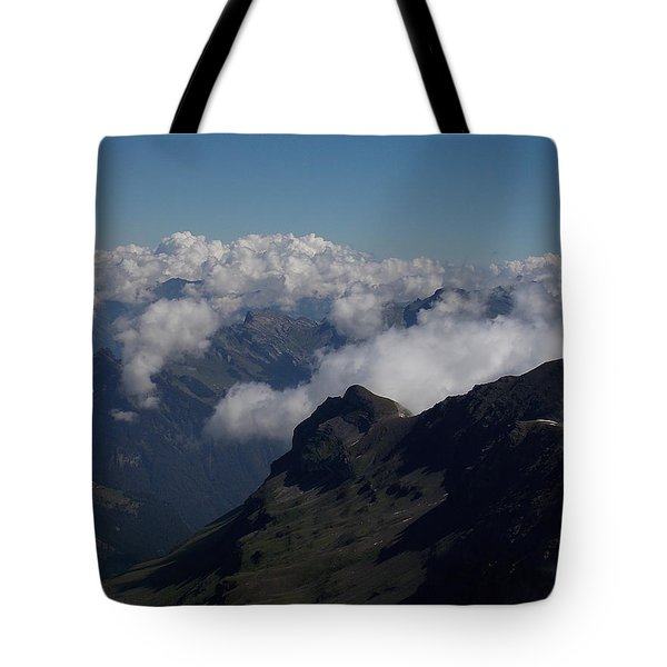 Mist From The Schilthorn Tote Bag