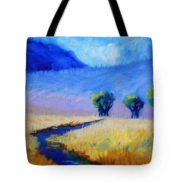 Mist In The Mountains Tote Bag