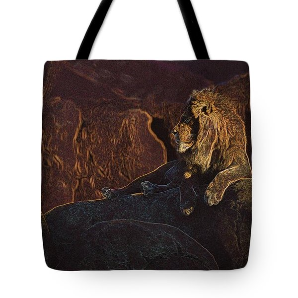 Tote Bag featuring the photograph Mister Majestic by David Andersen