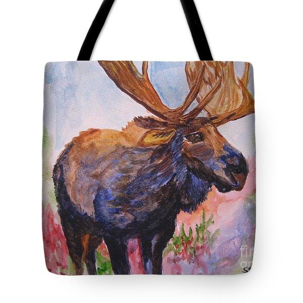 Mister Moose Tote Bag
