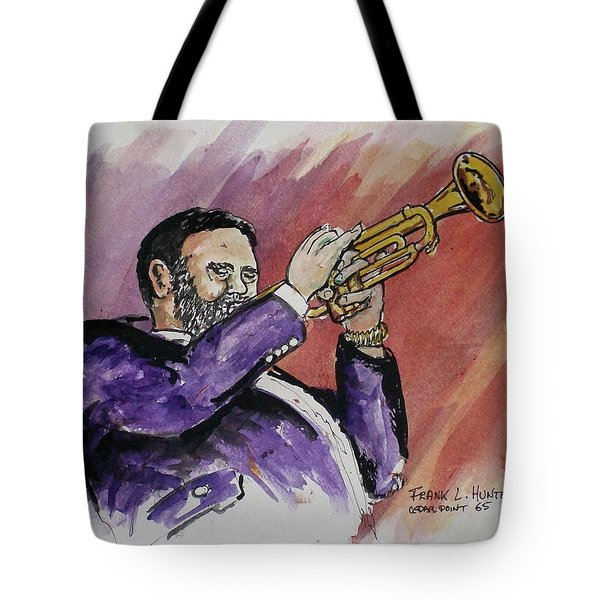 Mister Too Many Notes Tote Bag