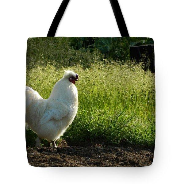 Mister Whitey Tote Bag