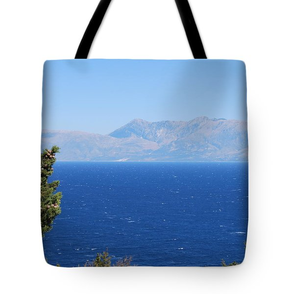 Tote Bag featuring the photograph Mistral Wind by George Katechis