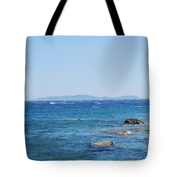 Tote Bag featuring the photograph Mistral.force 6 by George Katechis