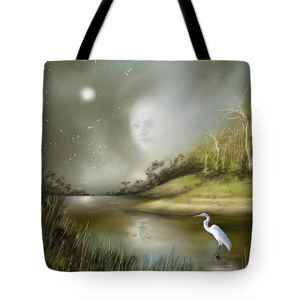 Tote Bag featuring the painting Mistress Of The Glade by S G
