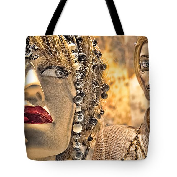Mistrust Tote Bag by Chuck Staley