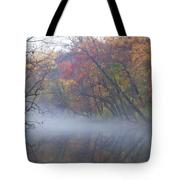 Mists Of Time Tote Bag by Bill Cannon