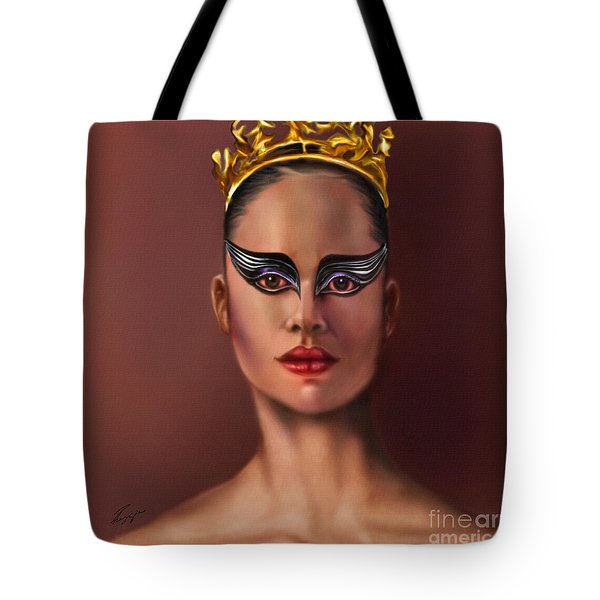 Misty Copeland  As The Black Swan Tote Bag