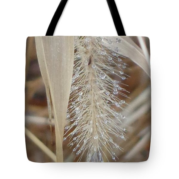 Misty Jewel Tote Bag