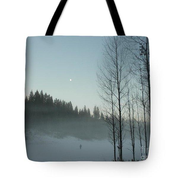 Misty Meadow Tote Bag