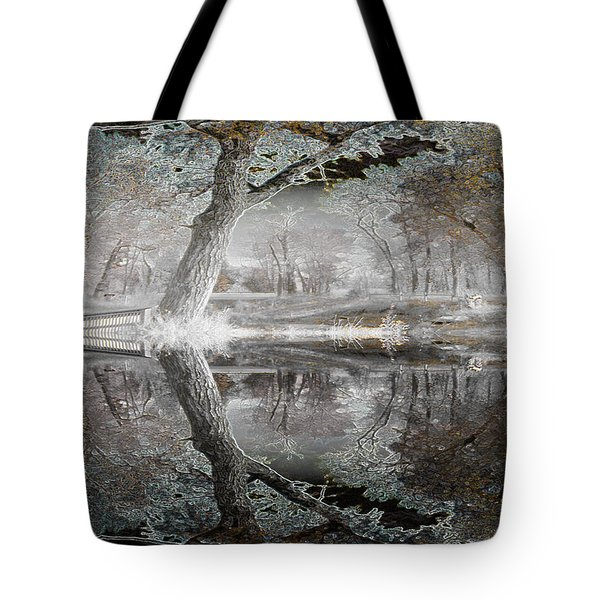 Misty Morn 1 Tote Bag by Stuart Turnbull