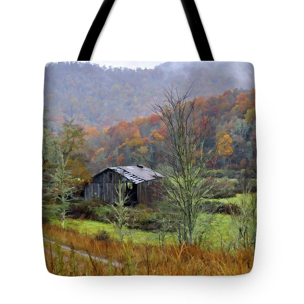 Misty Morn Tote Bag by Kenny Francis