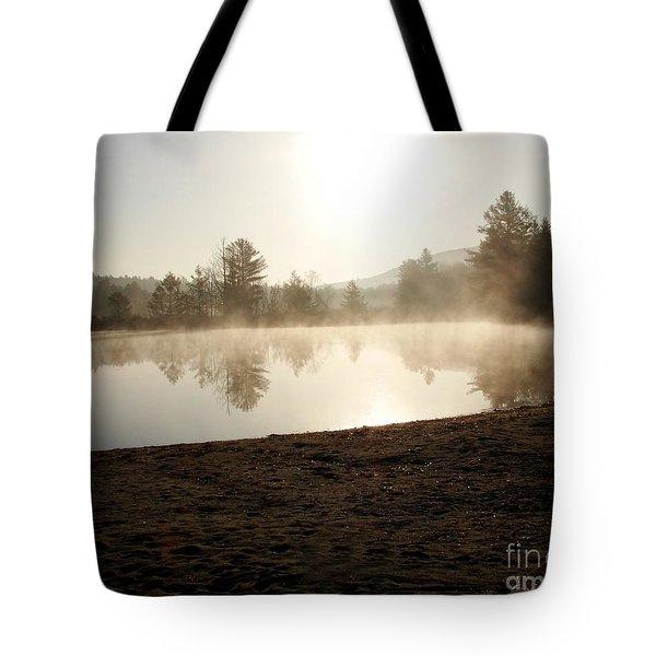 Misty Morning Tote Bag