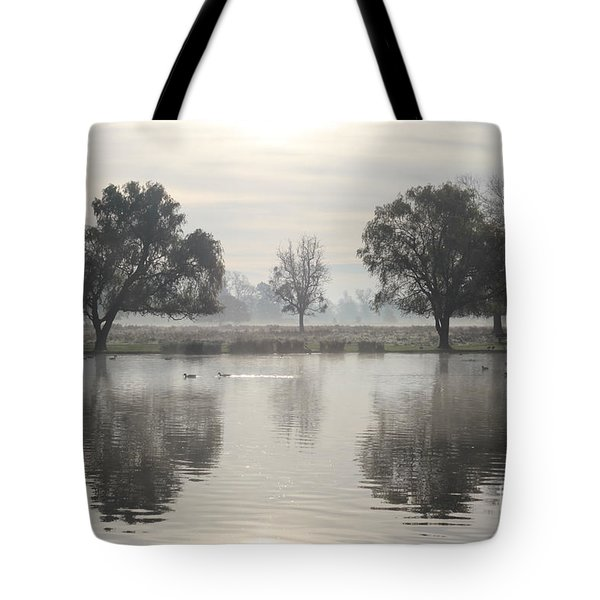 Misty Morning In Bushy Park London 2 Tote Bag