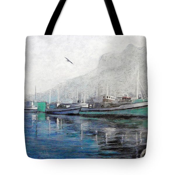 Misty Morning In Hout Bay Tote Bag by Michael Durst