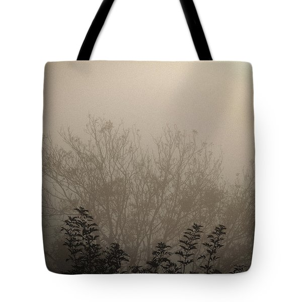 Misty Morning Tote Bag