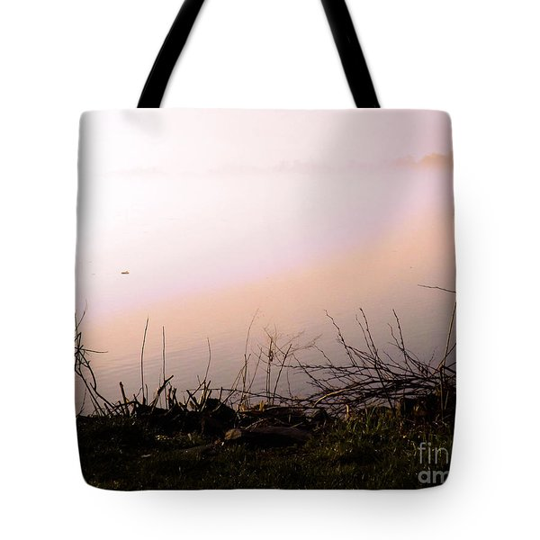 Tote Bag featuring the photograph Misty Morning by Robyn King
