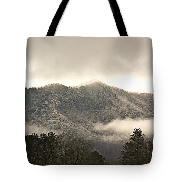 Misty Mountain Hop... Tote Bag