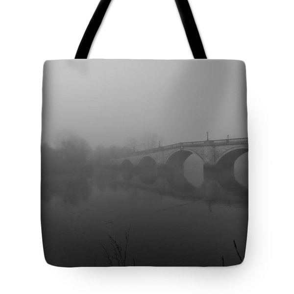 Misty Richmond Bridge Tote Bag by Maj Seda