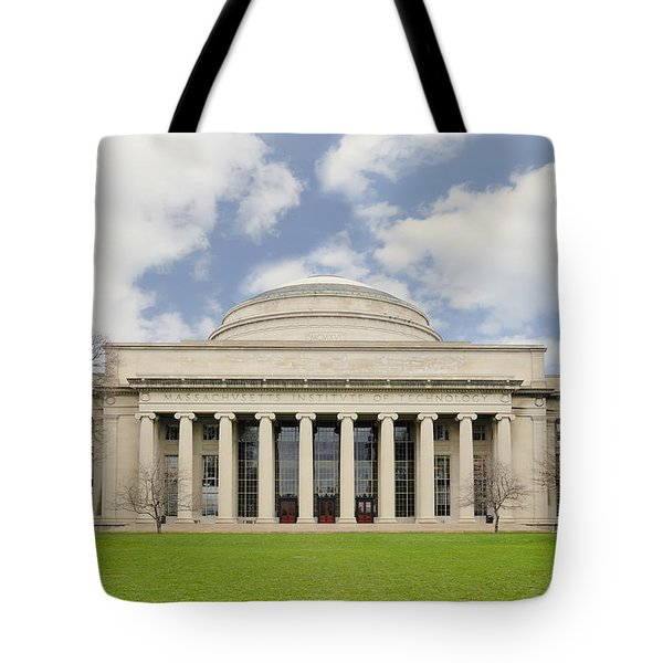 Tote Bag featuring the photograph Mit Building 10 The Great Dome by Marianne Campolongo