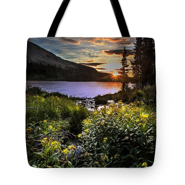 Mitchell Sunrise Tote Bag by Steven Reed