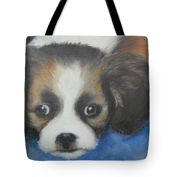 Mitzy Tote Bag by Jeanne Fischer