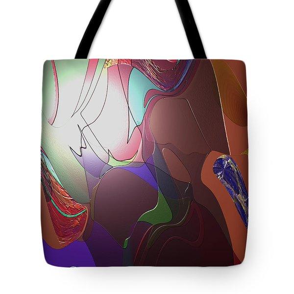 Mixup Abstract 14 Tote Bag