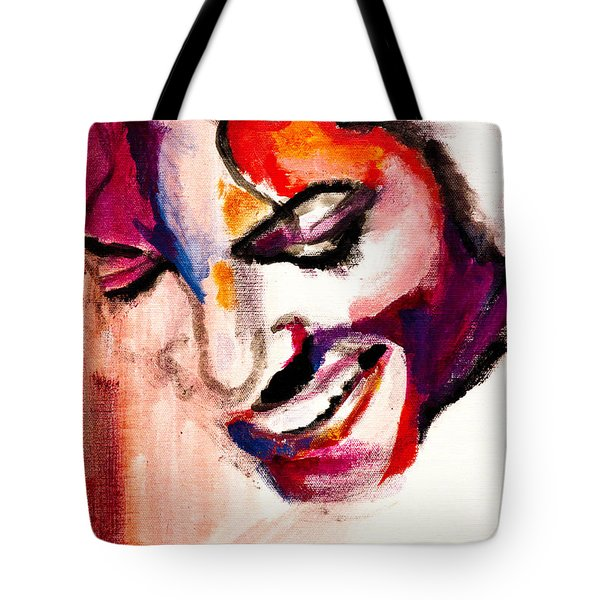 Mj Impression Tote Bag by Molly Picklesimer