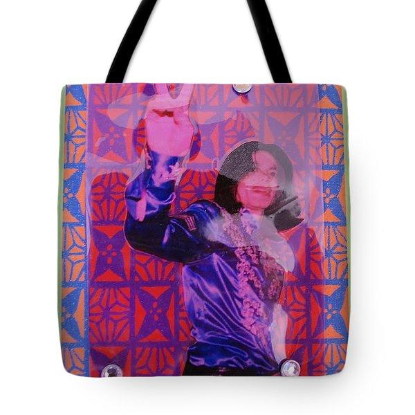 Mj Peace Tote Bag