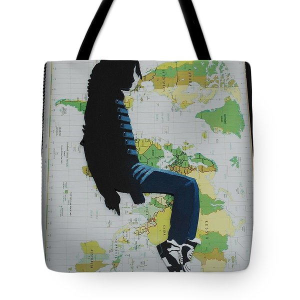 Mj They Dont Care Tote Bag