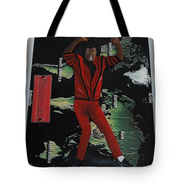 Mj Thriller Tote Bag