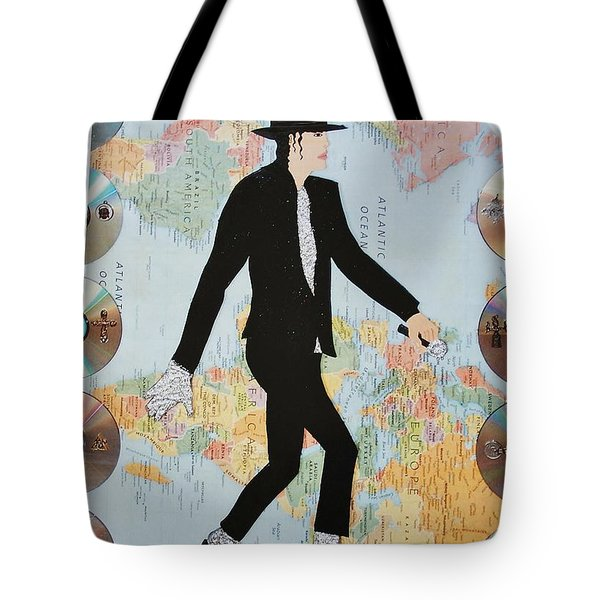 Mj We Are The World Tote Bag