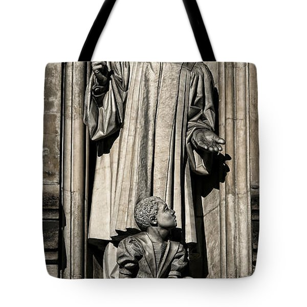 Mlk Memorial Tote Bag by Stephen Stookey