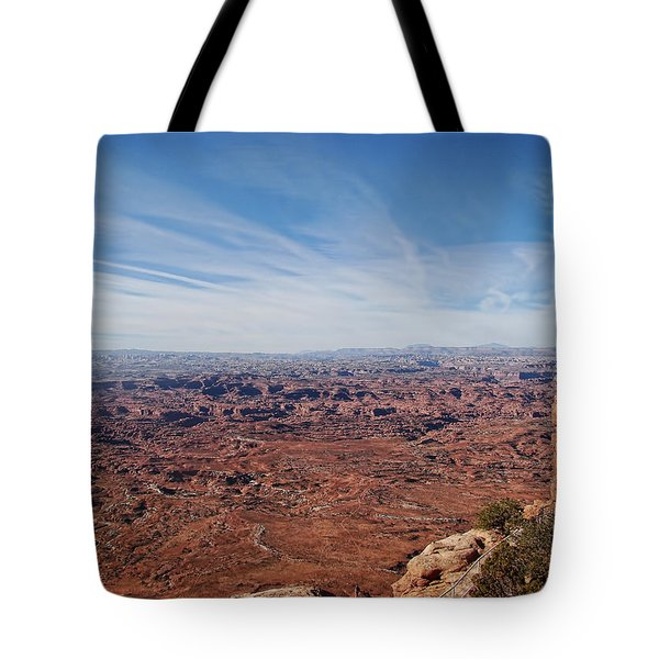 Moab  Tote Bag by Cathy Anderson