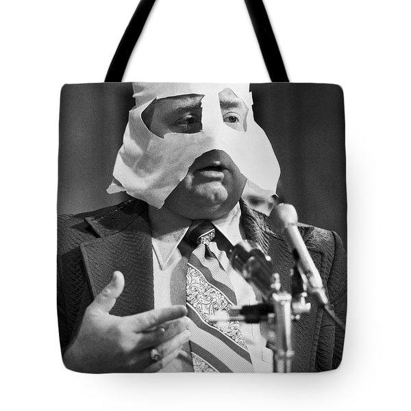 Mob Figure Testifies Tote Bag