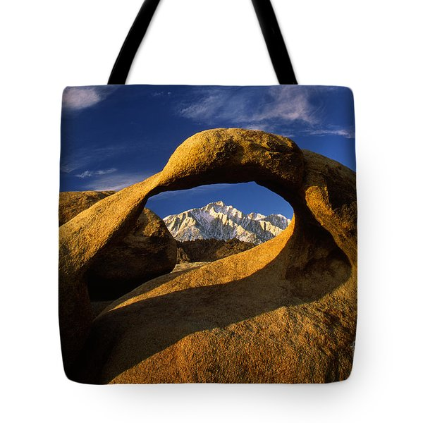 Mobius Arch Tote Bag by Inge Johnsson